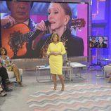 María Teresa Campos en el programa final de '¡Qué tiempo tan feliz!'
