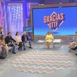Los colaboradores de '¡Qué tiempo tan feliz!' y María Teresa se despiden del formato en su programa especial