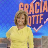 María Teresa Campos posa en el programa especial de '¡Qué tiempo tan feliz!'