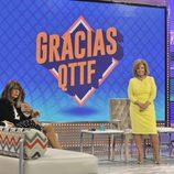 María Teresa Campos, Belén Rodríguez y Esperanza Gracia en el programa final de '¡Qué tiempo tan feliz!'
