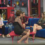 Emma, Alyson, Elettra e Irma en la gala 14 de 'GH VIP 5'