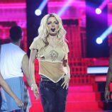 Patricia Aguilar es Britney Spears en la cuarta gala de 'Tu cara no me suena todavía'