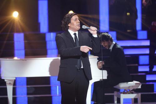 Gabriel Guitiérrez es Julio Iglesias en la cuarta gala de 'Tu cara no me suena todavía'