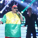 Jairo Sánchez es King África en la cuarta gala de 'Tu cara no me suena todavía'