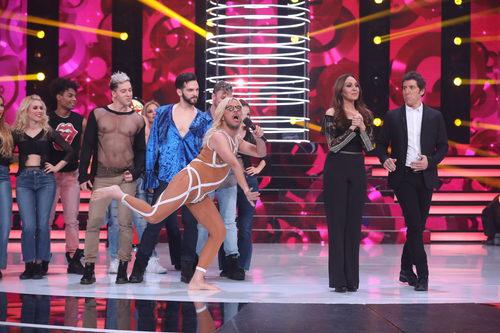 Àngel Llàcer se disfraza de una peculiar Britney Spears en la cuarta gala de 'Tu cara no me suena todavía'