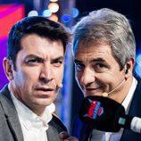 Arturo Valls y Manolo Lama en 'Ninja Warrior'