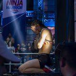 Una participante de 'Ninja Warrior', el concurso de superación de Antena 3