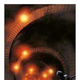 La escalera de 'El Ministerio del Tiempo', en una de las páginas del cómic basado en la serie