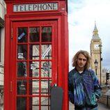 Manel Navarro en Londres durante la London Eurovision Party