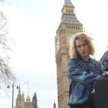 Manel Navarro vista Londres para participar en la London Eurovision Party