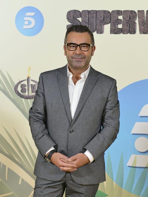Jorge Javier Vázquez posa en la presentación de 'Supervivientes 2017'