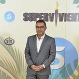 Jorge Javier Vázquez posa en la presentación de su programa 'Supervivientes 2017'