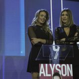 Alyson Rae Eckmann y Sandra Barneda en la semifinal de 'GH VIP 5'
