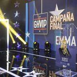 Atril de Emma Ozores en la semifinal de 'GH VIP 5'
