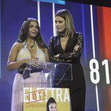 Elettra Lamborghini con Sandra Barneda en la semifinal de 'GH VIP 5'