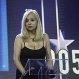 Emma Ozores contesta a los medios en la semifinal de 'GH VIP 5'