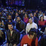 Los periodistas de la rueda de prensa de la semifinal de 'GH VIP 5'