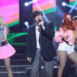 Agustín Jímenez imita al cantante de Danza Invisible en la quinta gala de 'Tu cara no me suena todavía'