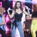 Yolanda León imita a Thalía en la quinta gala de 'Tu cara no me suena todavía'