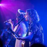 """Manel Navarro canta con Lucia Jones en la """"London Eurovision Party"""""""