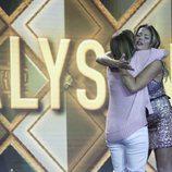 Alyson se abraza a su madre en la primera parte de la final de 'GH VIP 5'