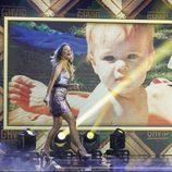 Alyson entra en el escenario de la final de 'GH VIP 5' como finalista del concurso