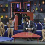 Alyson, Elettra, Marco y Daniela en la primera parte de la final de 'GH VIP 5'