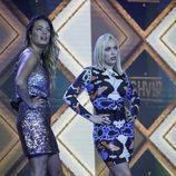 Alyson y Daniela, con cara de sorpresa e indignación en 'GH VIP 5'