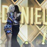 Daniela abraza a su prima en la primera parte de la final de 'GH VIP 5'