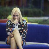 Daniela, nerviosa en la primera parte de la final de 'GH VIP 5'