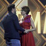 Irma Soriano se encuentra con su marido en la primera final de 'GH VIP 5'