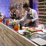 Los participantes de 'MasterChef' en la cocina