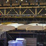 Vista del escenario de Eurovisión 2017