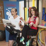 Javi Coll y Mar Abascal en 'Gym Tony LC'