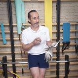Javi Coll con ropa deportiva en 'Gym Tony LC'