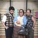 Tomás Pozzi, Jose Troncoso y Pepa Rus en 'Gym Tony LC'