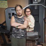 Tomás Pozzi y Pepa Rus, pareja en 'Gym Tony LC'