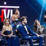 Jordi González habla con Elettra Lamborghini en la gala final de 'GH VIP 5'