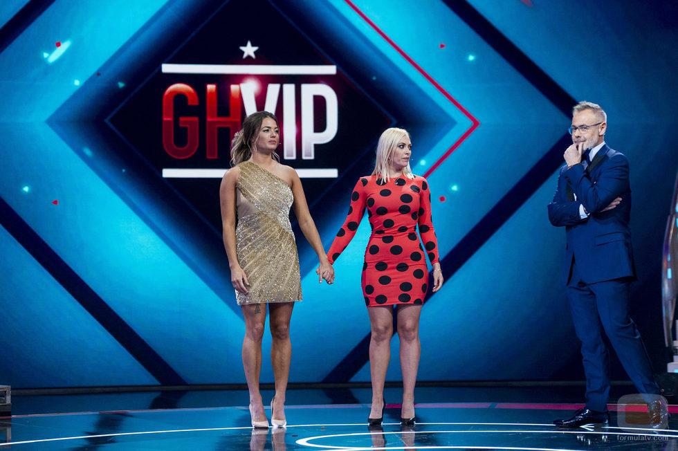 Daniela y Alyson se muestran nerviosas por conocer la decisión de la audiencia en la gala final de 'GH VIP 5'