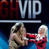 Alyson Rae Eckmann se sorprende al escuchar que es la ganadora de 'GH VIP 5' en la gala final