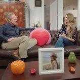 Bertín Osborne junto a Vanesa Romero ('La que se avecina') en un programa de 'Mi casa es la tuya'