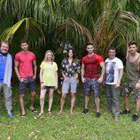 Posado grupal de los concursantes de 'Supervivientes 2017'