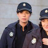 Las agentes Alicia y Claudia en 'Servir y proteger'