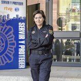 Luisa Martín es Claudia Miralles en 'Servir y proteger'