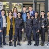 Los policías de la serie 'Servir y proteger'