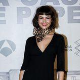 Úrsula Corberó posa en la rueda de prensa de 'La Casa de Papel'