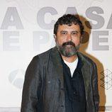Paco Tous posa en la presentación de 'La Casa de Papel'