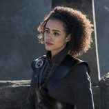 Nathalie Emmanuel en la temporada 7 de 'Juego de Tronos'