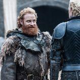 Kristofer Hivju y Gwendoline Christie en la séptima temporada de 'Juego de Tronos'