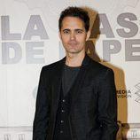 Pedro Alonso en la presentación de 'La Casa de Papel'